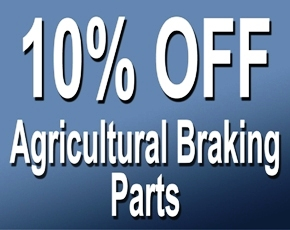 10pc off braking parts